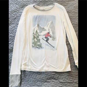 Cute Abercrombie and Fitch longsleeve T-shirt